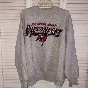 Vintage Oversized Tampa Bay Crewneck Swestshirt